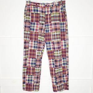 Men's Brooks Brothers Clark Pants Patchwork 34x30